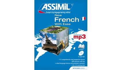 New French With Ease (1 book + 1 mp3 CD)