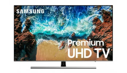 "Samsung UN65NU8000 Flat 65"" 4K UHD 8 Series Smart LED TV (2018)"